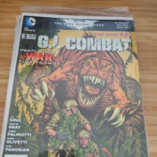 Cómics: G.I. COMBAT 3 DC THE NEW 52 GI. Lote 257555080