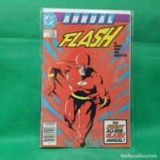 Cómics: FLASH ANNUAL 1 - DC 1987 / VFN. Lote 257557460