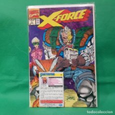 Cómics: X FORCE 1 - MARVEL 1991 / FN / CON TRADING CARD SHATTERSTAR. Lote 257558135