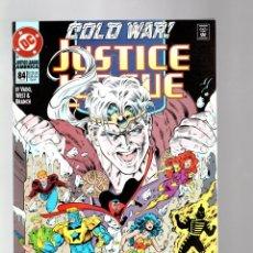 Cómics: JUSTICE LEAGUE AMERICA / INTERNATIONAL 84 - DC 1993 VFN/NM. Lote 286801628