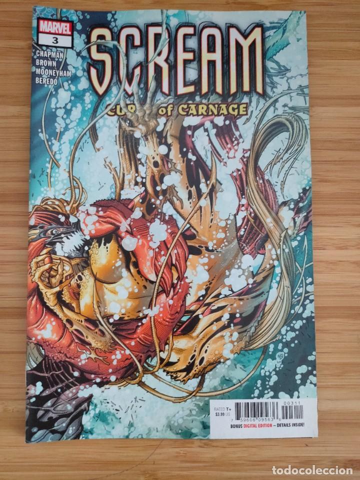 SCREAM CURSE OF CARNAGE 3 MARVEL (Tebeos y Comics - Comics Lengua Extranjera - Comics USA)