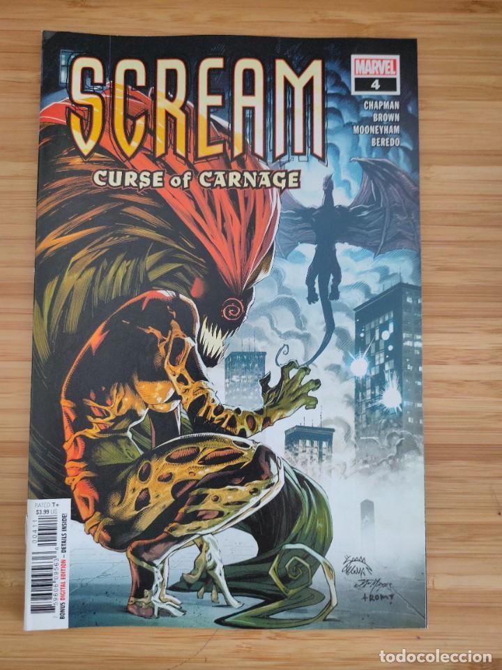 SCREAM CURSE OF CARNAGE 4 MARVEL (Tebeos y Comics - Comics Lengua Extranjera - Comics USA)