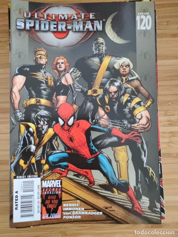 ULTIMATE SPIDER MAN 120 MARVEL (Tebeos y Comics - Comics Lengua Extranjera - Comics USA)