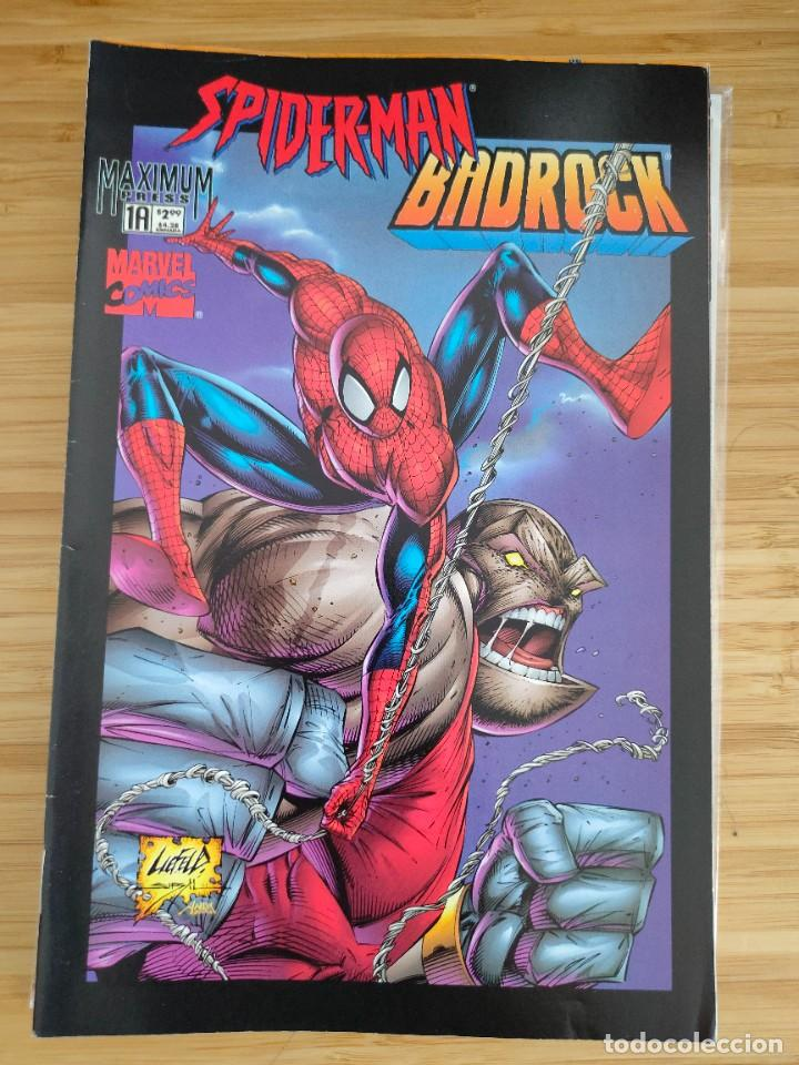 SPIDER MAN BADROCK 1A MARVEL (Tebeos y Comics - Comics Lengua Extranjera - Comics USA)