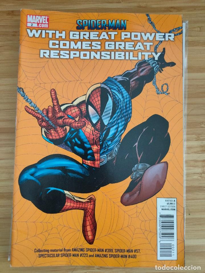 SPIDER MAN WITH GREAT POWER COMES GREAT RESPONSIBILITY 2 MARVEL (Tebeos y Comics - Comics Lengua Extranjera - Comics USA)