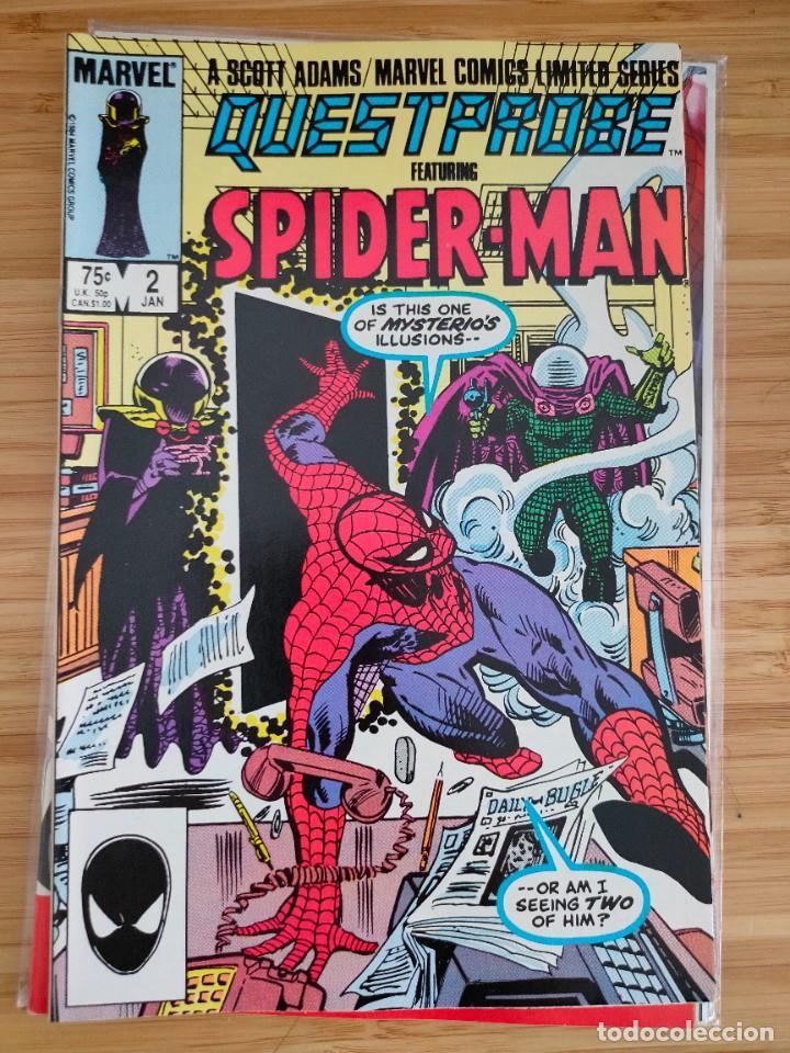 QUESTPROBE FT. SPIDER MAN 2 MARVEL (Tebeos y Comics - Comics Lengua Extranjera - Comics USA)