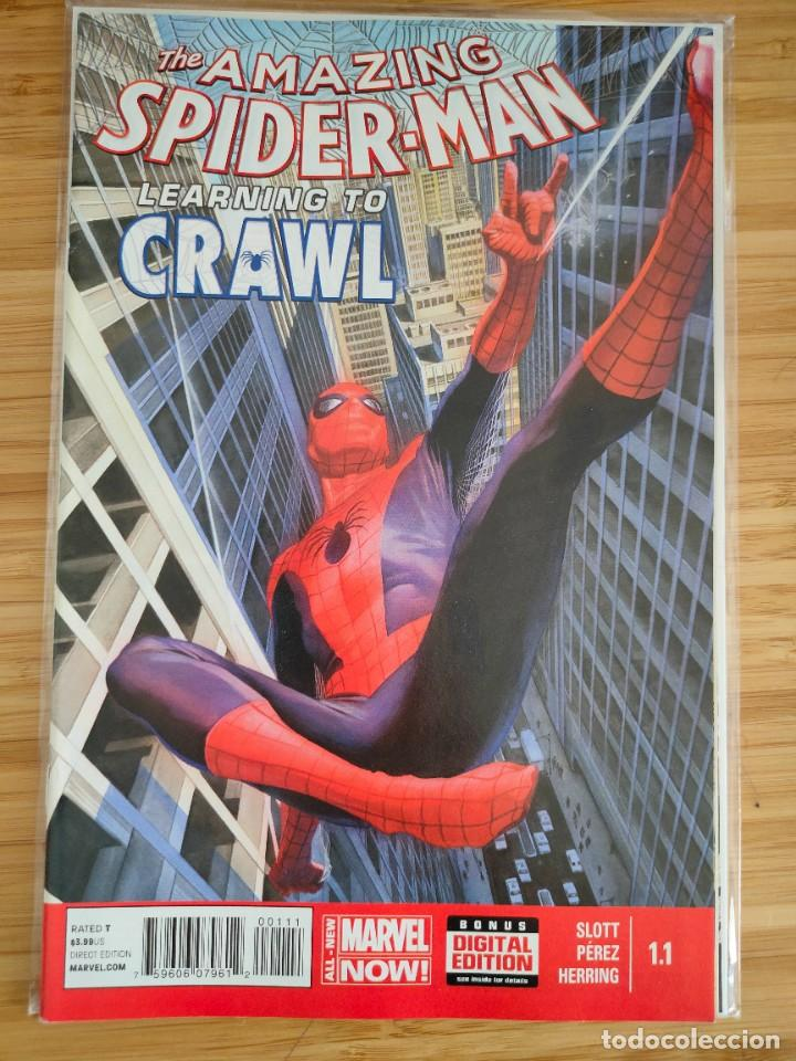 THE AMAZING SPIDER MAN LEARNING TO CRAWL 1.1 MARVEL (Tebeos y Comics - Comics Lengua Extranjera - Comics USA)