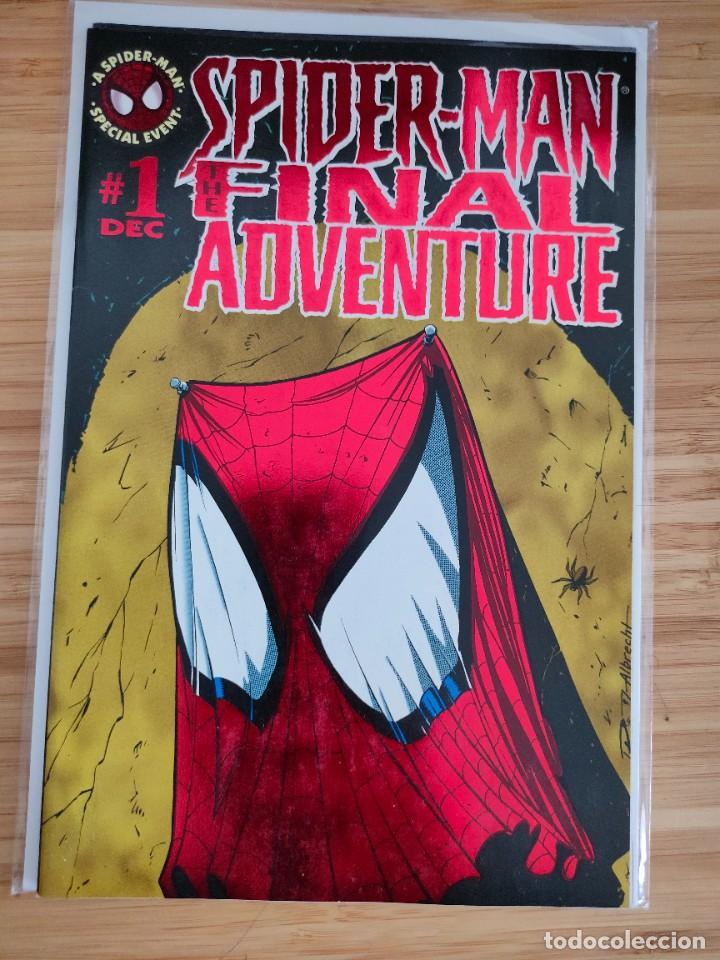 SPIDER MAN THE FINAL ADVENTURE 1 MARVEL (Tebeos y Comics - Comics Lengua Extranjera - Comics USA)