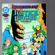 Cómics: JUSTICE LEAGUE AMERICA / INTERNATIONAL ANNUAL 5 - DC 1991 VFN/NM / ARMAGEDDON 2001 / KEITH GIFFEN. Lote 286801783
