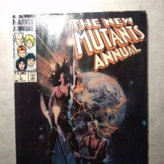 Fumetti: THE NEW MUTANTS ANNUAL # 1 MARVEL USA PORTADA BILL SIENKIEWICZ LEER DESCRIPCIÓN. Lote 259038635