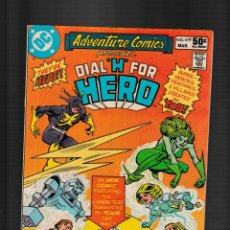 Fumetti: ADVENTURE COMICS 479 - DC 1981 FN / DIAL H FOR HERO. Lote 260321045