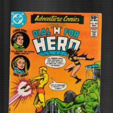 Fumetti: ADVENTURE COMICS 481 - DC 1981 VG / DIAL H FOR HERO. Lote 260321410