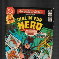 Fumetti: ADVENTURE COMICS 483 - DC 1981 FN / DIAL H FOR HERO. Lote 260321625