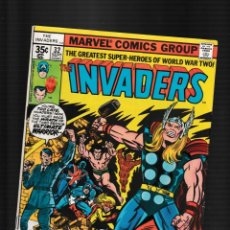 Fumetti: INVADERS 32 - MARVEL 1978 FN / VS HITLER & THOR !. Lote 260326900