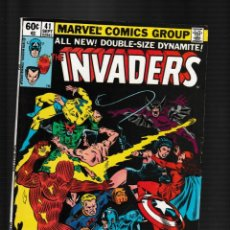 Fumetti: INVADERS 41 - MARVEL 1979 FN/VFN / BARON BLOOD / GIANT SIZE FINAL ISSUE. Lote 260328370