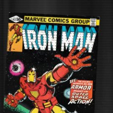 Fumetti: IRON MAN 142 - MARVEL 1981 FN/VFN / DAVID MICHELINIE & JOHN ROMITA JR / 1ST SPACE ARMOR. Lote 260330475