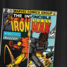 Fumetti: IRON MAN 144 - MARVEL 1981 FN / DAVID MICHELINIE & JOHN ROMITA JR. Lote 260330795