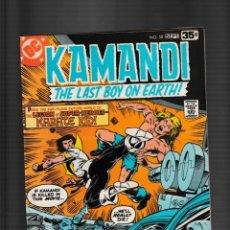 Cómics: KAMANDI 58 - DC 1978 FN/VFN / VS KARATE KID LEGION OF SUPER-HEROES. Lote 260339320