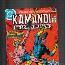 Fumetti: KAMANDI 59 - DC 1978 VFN- GIANT SIZE / ULTIMO NUMERO / OMAC DE JIM STARLIN. Lote 260339885