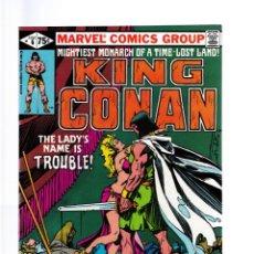 Cómics: KING CONAN 6 - MARVEL 1981 VFN/NM / ROY THOMAS & JOHN BUSCEMA. Lote 260454305