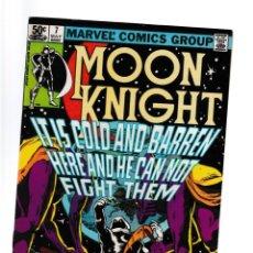 Cómics: MOON KNIGHT 7 - MARVEL 1981 VFN / DOUG MOENCH & BILL SIENKIEWICZ. Lote 277423273
