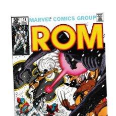 Cómics: ROM SPACEKNIGHT 18 - MARVEL 1981 VFN/NM / UNCANNY X-MEN / FRANK MILLER COVER. Lote 260457075