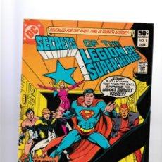 Fumetti: SECRETS OF THE LEGION OF SUPER-HEROES 1 2 3 COMPLETA - DC 1981 VFN. Lote 260457385