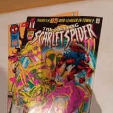 Fumetti: THE AMAZING SCARLET SPIDER #1 Y #2 MARVEL COMICS USA 1995. Lote 260603390
