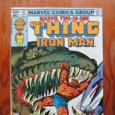 Cómics: MARVEL TWO-IN-ONE: THE THING AND IRON MAN #97. MARVEL COMICS.. Lote 260822810