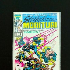 Cómics: STRIKEFORCE: MORITURI #2 MARVEL COMICS 1987. Lote 260832325