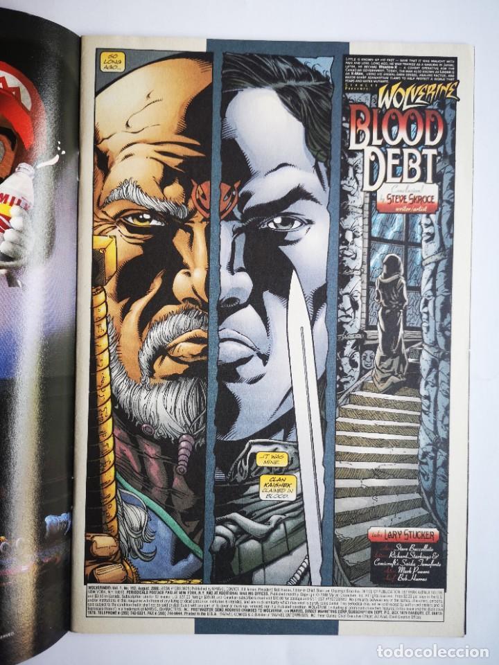 Cómics: WOLVERINE 153 - Marvel USA - 2000 - Foto 2 - 261121265