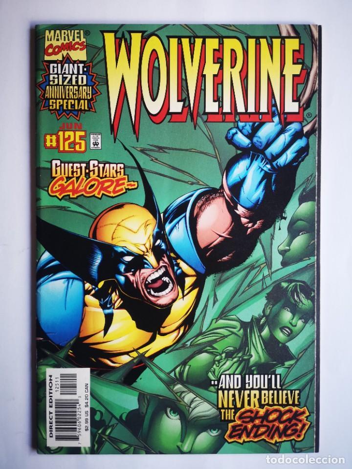WOLVERINE 125 - MARVEL USA - 1998 - GIANT SIZED ANNIVERSARY SPECIAL (Tebeos y Comics - Comics Lengua Extranjera - Comics USA)