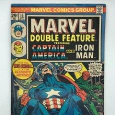 Cómics: 1976 MARVEL COMICS GROUP CAPTAIN AMERICA AND IRON MAN 15APR. VÉRTICE,CONAN,LA MASA,DAN DEFENSOR.... Lote 261161495