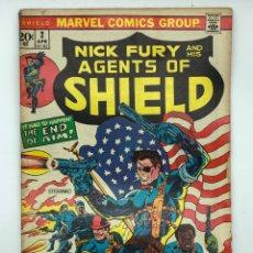 Cómics: 1973 MARVEL COMICS GROUP NICK FURY AND HIS AGENTS OF SHIELD 2 APR VÉRTICE,CONAN,LA MASA,DAN DEFENSOR. Lote 261162000
