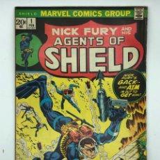 Cómics: 1972 MARVEL COMICS GROUP NICK FURY AND HIS AGENTS OF SHIELD 1 FEB VÉRTICE,CONAN,LA MASA,DAN DEFENSOR. Lote 261162400
