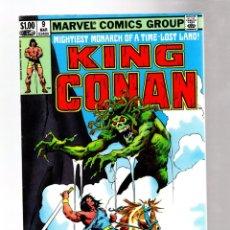 Cómics: KING CONAN 9 - MARVEL 1982 VFN / DOUG MOENCH & JOHN BUSCEMA. Lote 261899130