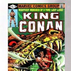 Cómics: KING CONAN 10 - MARVEL 1982 VFN- / DOUG MOENCH & ERNIE CHAN. Lote 261899295