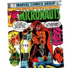 Cómics: MICRONAUTS 34 - MARVEL 1981 VFN/NM / DOCTOR STRANGE. Lote 261909885