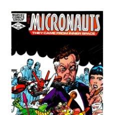 Cómics: MICRONAUTS 42 - MARVEL 1982 VFN / BILL MANTLO & GIL KANE. Lote 261914260