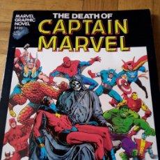 Cómics: LA MUERTE DEL CAPITÁN MARVEL (ORIGINAL USA EN INGLÉS). JIM STARLIN. Lote 261968465