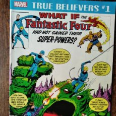 Cómics: WHAT IF THE FANTASTIC FOUR HAD NOT GAINED THEIR SUPER-POWERS? MARVEL COMIC ORIGINAL USA.. Lote 262236190
