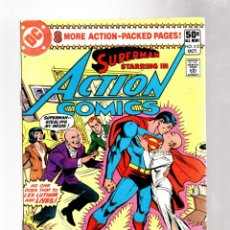 Cómics: ACTION COMICS 512 SUPERMAN - DC 1980 FN- / TEAM UP WITH LUTHOR / AIR WAVE. Lote 262353410