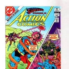 Cómics: ACTION COMICS 537 SUPERMAN - DC 1982 VFN / MASTERS OF THE UNIVERSE 16 PAGES PREVIEW. Lote 262354380