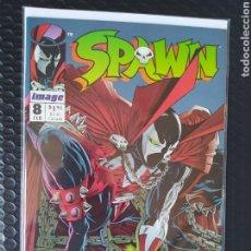 Cómics: COMIC USA -SPAWN #8 TODD MC FARLANE-1992-NM-BOLSA & BACKBOARD. Lote 262368760
