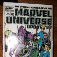 Cómics: 1989 UPDATE THE OFFICIAL HANDBOOK MARVEL UNIVERSE #7 MARVEL. Lote 262377250