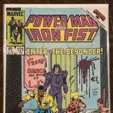 Cómics: POWER MAN AND IRON FIST #121 MARVEL COMICS SECRET WARS II BEYONDER. Lote 262378985