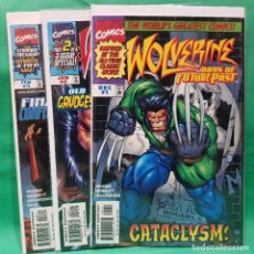 Cómics: WOLVERINE DAYS OF FUTURE PAST - MARVEL 1997 / VFN • NM / SERIE COMPLETA. Lote 262404040