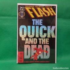 Cómics: FLASH 100 - DC 1995 / VFN / GIANT SIZE. Lote 262405960