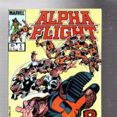Cómics: ALPHA FLIGHT 5 - MARVEL 1983 VFN+ / JOHN BYRNE. Lote 277423423