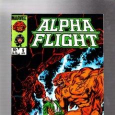 Cómics: ALPHA FLIGHT 9 - MARVEL 1984 VFN / JOHN BYRNE. Lote 277423433